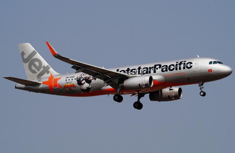 самолет Jetstar Pacific